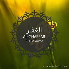 Al-Ghaffar,The Forgiving-Islam,Muslim,99 Names