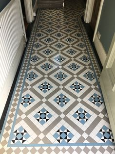 Victorian tiles are an elegant and original feature that will add value to your property. Victorian mosaic tiles supplay and installation Hallway Decorating, Mosaic Floor Tile, Victorian Mosaic Tile, Hallway Flooring, Flooring, Hall Tiles, Mosaic Flooring, Victorian Tiles, Tiled Hallway