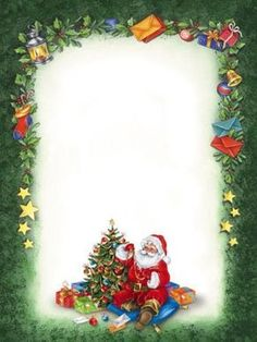 ♥ ♥ Presents: Christmas is coming Christmas or the Christ festival, the Festival of lights, the Food of peace, or the Chri. Christmas Boarders, Christmas Frames, Christmas Pictures, Christmas Art, Christmas Decorations, Christmas Flyer, Christmas Greeting Cards, Christmas Greetings, Santa Letter Template