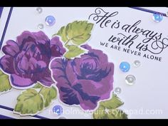 How To Use Altenew Layered Stamps {cute tags!} - YouTube