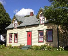 Bed and Breakfast, Victoria By the Sea, PEI, Prince Edward Island, Canada Pei Canada, Cottages And Bungalows, Prince Edward Island, Sea And Ocean, Fishing Villages, Small Homes, Canada Travel, Beautiful Islands, Foxes