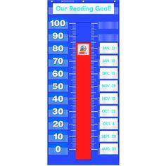 GOAL SETTING POCKET CHART