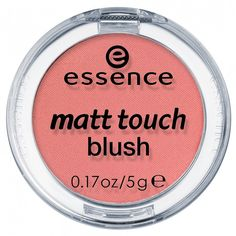 Coloured cheeks! The matt touch blush with a soft powder texture creates a matt finish on your cheeks and gives your complexion a fresh touch of colour for a healthy look.