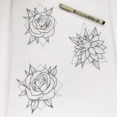 I love these designs!! I'll definitely tattoo one of these❤