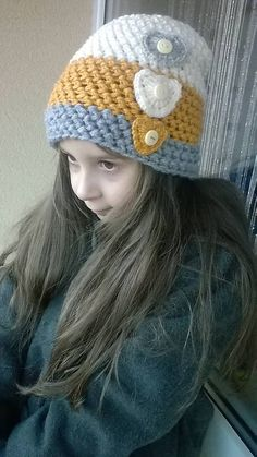 REJAdekor / Pre Fešandu pruhovaná čiapka