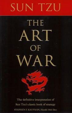 Sun Tzu The Art of War #books #HanshiKaufman #strategy #SunTzu #war #authors