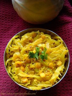 cabbage upkari recipe with step by step photos. cabbage upkari is one of my favorite ways to have cabbage besides the cabbage pakora. Indian Vegetable Recipes, Veg Recipes Of India, Veggie Recipes, Indian Food Recipes, Vegetarian Recipes, Healthy Recipes, Cabbage Recipes Indian, Vegetarian Cooking, Goan Recipes