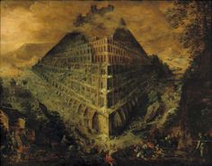 Martin van Valckenborch - Tower of Babel 1595