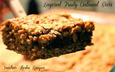 Sandra's Alaska Recipes: SANDRA'S LAYERED FRUITY OATMEAL BARS ~ (Click image for recipe)...