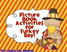 Free Activities for the Great Turkey Race and A Turkey for Thanksgiving
