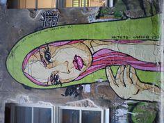 Graffiti art by El Bocho