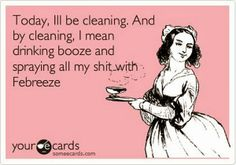 Seriously...live life, don't waste precious moments making sure your house is spotless. Your kids will remember the fun time, not your messy house!