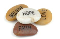 Believe Hope Love Faith