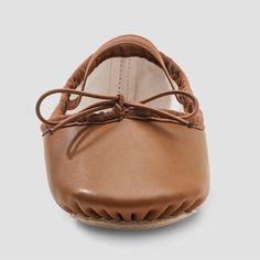 41a194b65936 Freestyle by Danskin Girls  Ballet Shoe - Brown 12. Leder Ballettschuhe Target