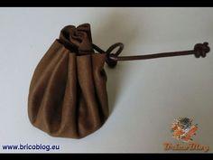 """Monedero de estilo """"medieval"""", con cuero reciclado - Wallet Style """"medie..."""