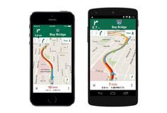 El Goog is rolling out a bunch of improvements to its Maps apps for Android and iOS. Some of them are small improvements, and some of them are friggin' awesome. Chauffeur Vtc, You Tude, Google Maps App, Smartphone, Ios Update, Internet, Best Apps, Peta, Tecnologia