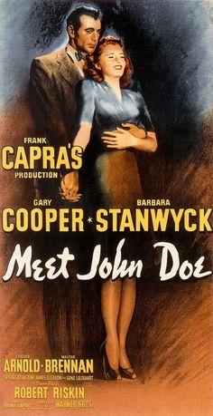 Meet John Doe (1941) Gary Cooper, Barbara Stanwyck
