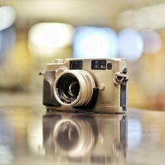 Contax G2  #film #analog #filmisnotdead #filmnotpixels #vintage #camera #classic #bokeh #austin #atx #rangefinder