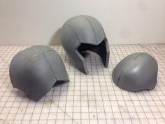 The Basic Helmet, Shoulder & Elbow Patterns - The Evil Ted Channel