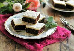 ~ DióS - AlmáS Csokis Pite ~ Hungarian Desserts, Hungarian Recipes, Cake Cookies, Feta, Cheesecake, Sandwiches, Paleo, Vaj, Pizza