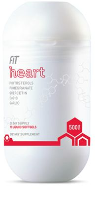 The  proprietary bioactive blend in Fit Heart includes highly effective   levels of phytosterols that may reduce the risk of heart disease by   lowering cholesterol.   *These statements have not been evaluated by the Food and Drug Administration. This product is not intended to diagnose, treat, cure, or prevent any disease.
