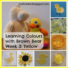 This is the third in my series about Learning Colours, based on the animals in the book Brown Bear, Brown Bear What Do You See?