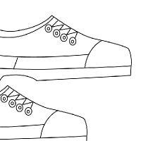 comment dessiner une chaussure