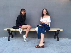 Rowan Blanchard and her friend