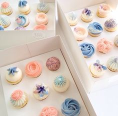 Nectar and stone cup cakes Buttercream Cupcakes, Love Cupcakes, Cupcake Cookies, Pretty Cakes, Beautiful Cakes, Amazing Cakes, Patisserie Fine, Nectar And Stone, Small Cake