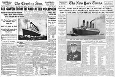 Newspapers started competing to print stories faster and with more visuals in the early 1900s.