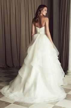 Paloma Blanca wedding dress available at Helena Fortley www.helenafortley.co.uk