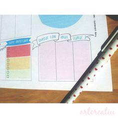 planificador semanal imprimible gratis