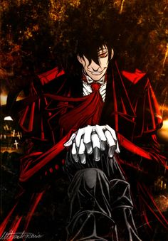 Alucard From Hellsing Ultimate | Character Creation: Alucard(Who Else?!)