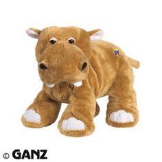Webkinz Mud Hippo-Plush only