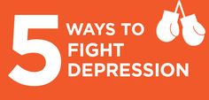 Five Ways to Fight Depression (Without Drugs!)~Getting 30 minutes of exercise 3-5 times a week.Spending some time in the sun may be a good way to boost serotonin, which is a key factor in treating depression.Getting the recommended 7-9 hours of sleep/ A cup or two of coffee will wake you up, and may also keep your spirits up. Following a Mediterranean diet, a low glycemic index diet, and a diet low in fast food could be making you a happier (and healthier) person.