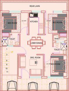 3 bhk in 194 sr. yard mansha floors site plan