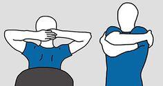 Il est facile de se débarrasser des douleurs du dos sans bouger de son canapé. Faites ces mouvements en restant assis pour soulager les douleurs dorsales.