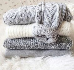 cozy grey sweaters