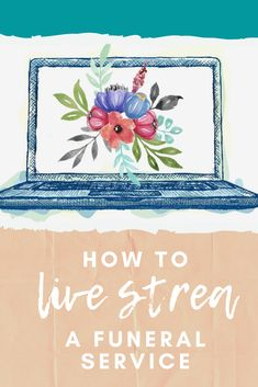 In a time of travel and gathering restrictions, people are struggling to facilitate funerals. Learn the best ways to stream your loved one's service. Funeral Memorial, Memorial Urns, Funeral Etiquette, Funeral Planning Checklist, Grief Poems, Life Touch, Bereavement, First Love, Memories