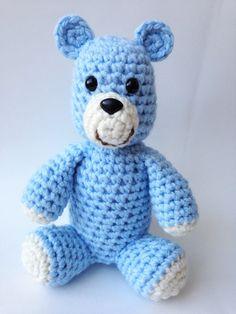 Stuffed Animal Teddy Bear Amigurumi Bear by TheSimplyHooked