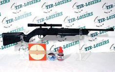 Crosman Recruit RCT 525, pack carabine à plombs  #categorieB #carabinesaplombsinferieurea20joules #crosmanrecruitrct525