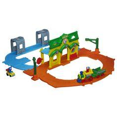 Brinquedo Sesame Street Playskool Sesame Street Elmo Junction Train Set #Brinquedo #Sesame Street