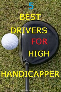 Golf Clubs 5 Best Drivers for High Handicappers. Need to buy a new golf driver? Discover the 5 most forgiving drivers for high handicappers. Golf 6, New Golf, Play Golf, Disc Golf, Golf Club Reviews, Golf Course Reviews, Golf Slice, Golf Holidays, Best Golf Clubs
