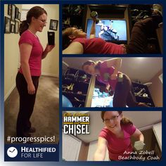 #progresspics!  Chisel Balance workout done!  Shakeology for breakfast,  and I have my healthy foods and snacks in my bag for work! Happy Monday!