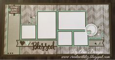 Create with Liz: Rustic Home Fundamentals Layouts