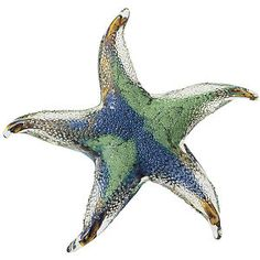 Moonlit Starfish Glass Figurine - Furniture, Home Decor and Home Furnishings, Home Accessories and Gifts | Expressions