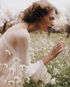 """Fairy Lullaby"" Mona Johannesson in Elle Sweden. Via #fairytailsbynature"