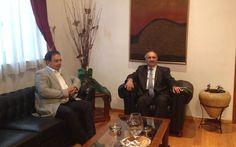 Συνάντηση Δημάρχου Βέροιας με τον Αν. Υπουργό Αγροτικής Ανάπτυξης και Τροφίμων