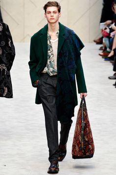Burberry Prorsum + Fall 2014 Menswear
