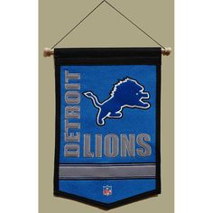 Detroit Lions NFL Traditions Banner (12x18)